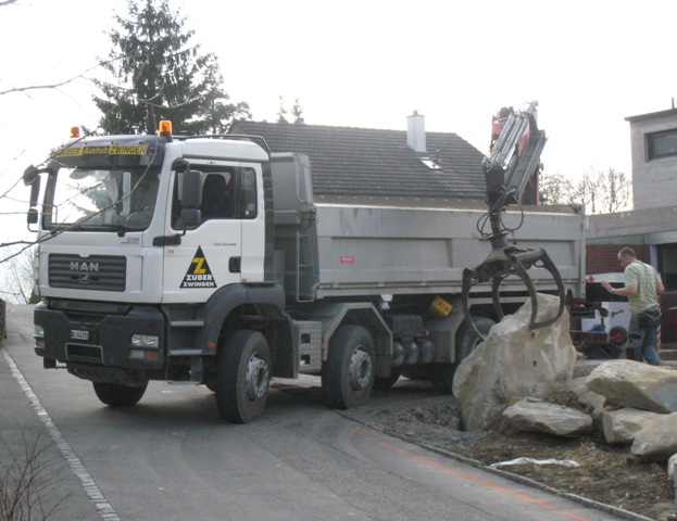 Maschinentransport